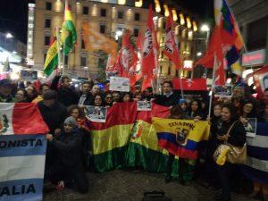 Mobilitiamoci contro il golpe in Bolivia! Presidio a Milano