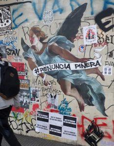 Chile: die Mauern sprechen…