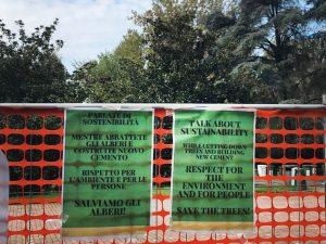 Salviamo quegli alberi! Flash mob a Milano lunedì 25 novembre