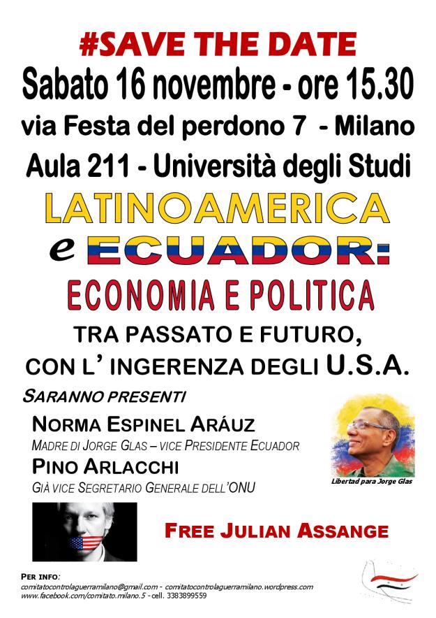 LATINO AMERICA E ECUADOR TRA PASSATO E FUTURO