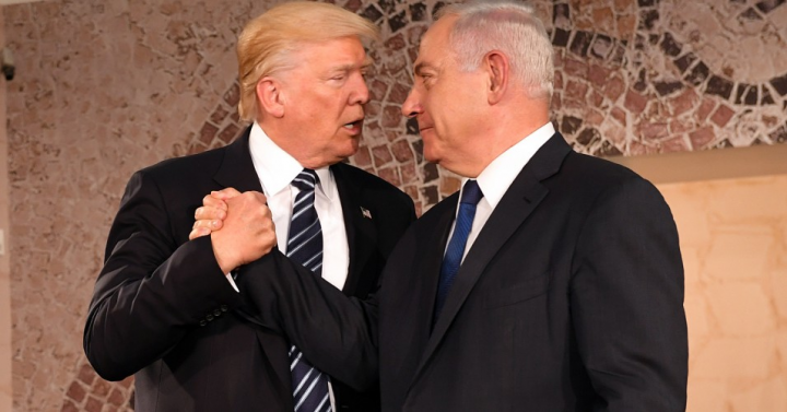Today Netanyahu, tomorrow Trump.