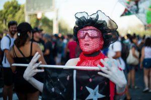 Foto-reportaje del noveno viernes en Plaza de la Dignidad