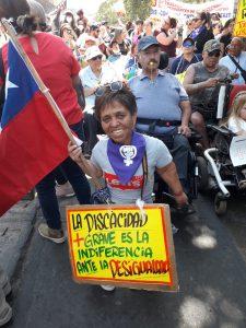 [Chile] Marcha de las Personas con Discapacidad: entrevistas a los activistas Luis Vera y Lorenzo Morales