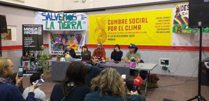 La Cúpula Social por el Clima anuncia oficialmente: ¡todos en marcha el día 6!