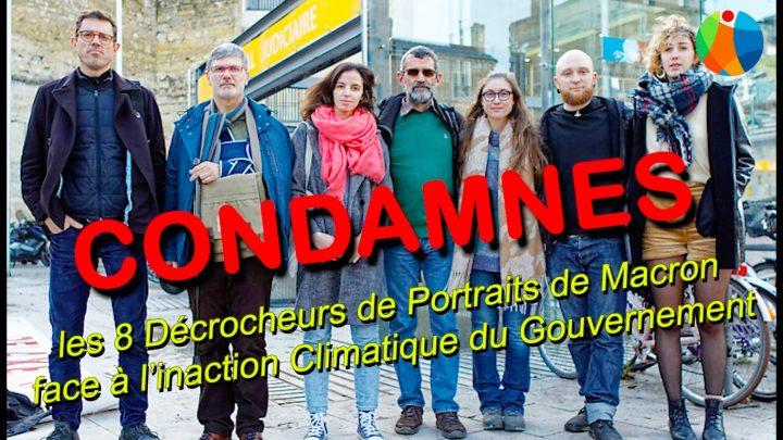 Décrochons Macron : Jugement ANV-COP21 Bordeaux