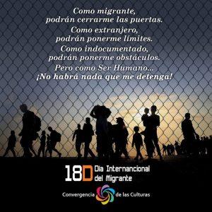Día Internacional del Migrante: Desmontar las Fronteras, desmontar las Fortalezas