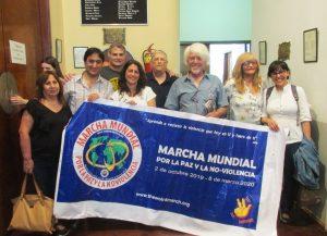 Segunda Marcha Mundial por la Paz y la Noviolencia llega a la Argentina