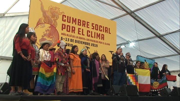 Acto de Apertura de la Cumbre Social por el Clima en Madrid, para ir «más allá de la COP25»
