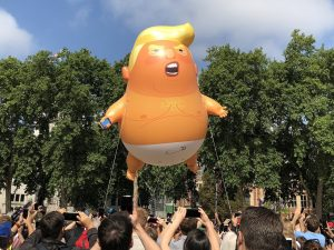 Is it time to put the Baby Trump blimp to bed?