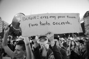 Colômbia: Após 12 dias de protestos, Duque cede e aceita dialogar com comitê de greve
