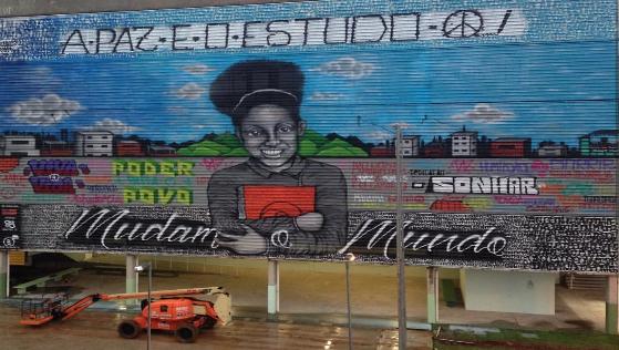 Educação e Arte em Cubatão!