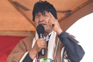 Evo Morales denounces persecution against leaders in Bolivia