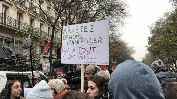 Francia: Defendiendo una jubilación digna