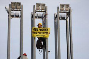 COP25. ACCION Greenpeace exige que no se acepten presiones de las grandes empresas presentes en la COP