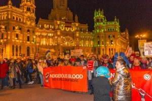 The March for Climate in Madrid