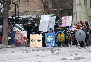 Plaza de la Dignidad: Todo Chile con capucha