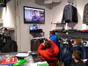 """Presentazione del libro """"La sfida"""" di Stefano Montanari presso Insuperabili Shop"""