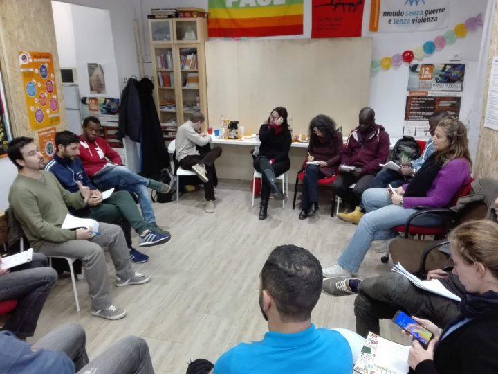Roma: laboratorio sulla nonviolenza a San Lorenzo