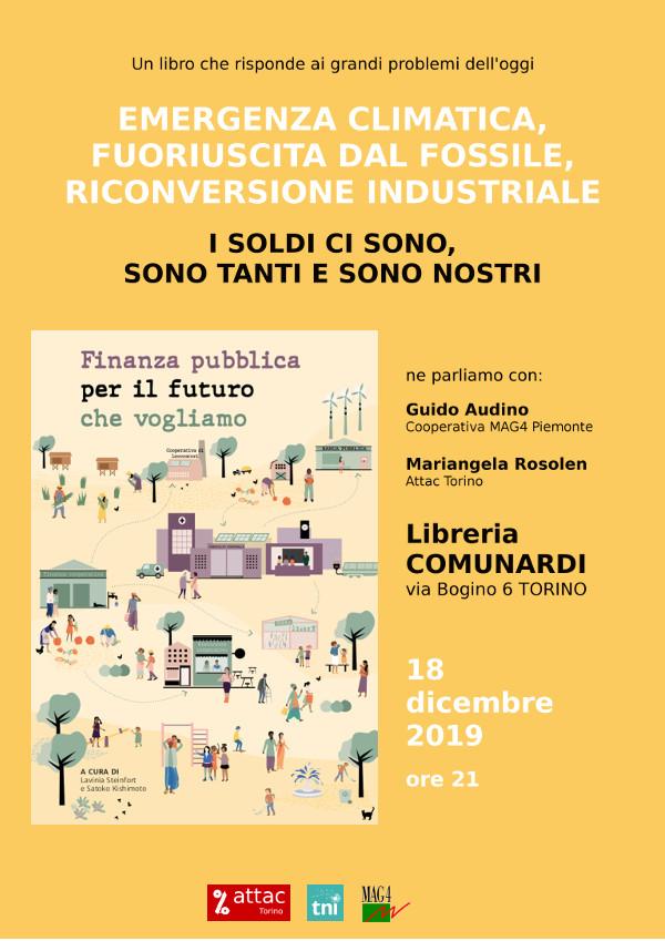 """Presentazione del libro """"Finanza pubblica per il futuro che vogliamo"""""""