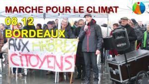 Marcha por el clima en Burdeos: intervención de Loïc Prud'homme