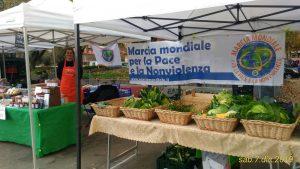 Il Mercato Contadino Tiburtino e il Mercato Contadino dell'Agro Romano aderiscono alla Marcia Mondiale per la pace e la nonviolenza