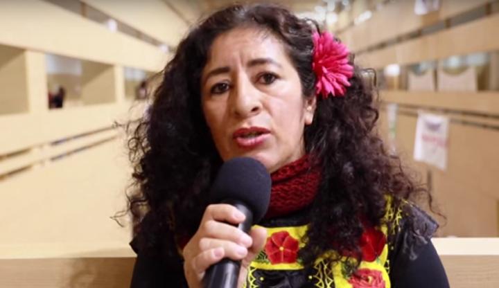 COP25. Nashieeli Valencia: No somos niños, no pueden decidir por nosotros, somos sujetos políticos
