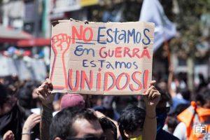 """Cile: """"Ci siamo stancati, ci siamo uniti"""""""