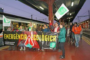 COP25. Reclaman un tren sostenible y social, que conecte el mundo rural