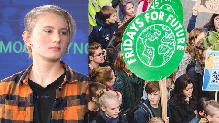"""La mia generazione deve dire """"Basta"""": una partecipante svedese agli scioperi del clima parla di Fridays For Future"""