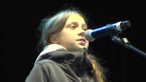 Greta Thunberg at Madrid March: Hope in the Streets, Not the U.N. Climate Summit
