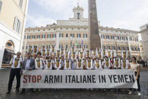 """""""Prodotto in Europa, bombardato in Yemen"""""""