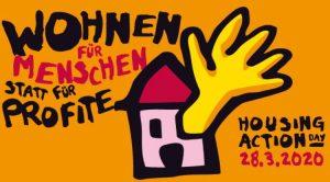 """""""Housing Action Day"""": Wohnen für Menschen statt für Profite"""