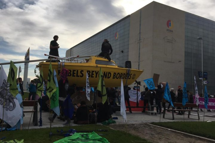 BREAKING COP25 – Extinction Rebellion and Minga act for Amazonia: Let's disrupt the Destruction