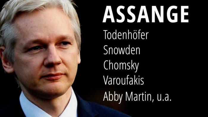 Fall Assange: Todenhöfer, Snowden, Chomsky, Varoufakis, Abby Martin, Jill Stein u.a. nehmen Stellung