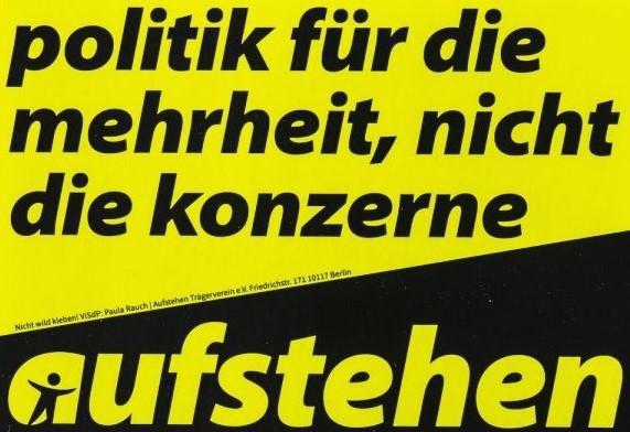 Petition von Aufstehen gegen Steuerraub durch Politiker: #AndiScheuerGesetz