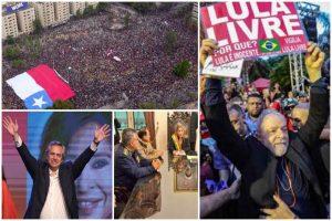 Um ano convulsivo na América Latina