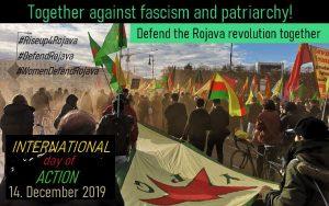 Αθήνα: Διεθνής Μέρα Δράσης για τη Ροζάβα – Σάββατο 14/12