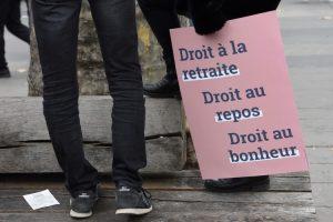 Grève et manifestations en France contre la réforme des retraites