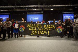 """""""Giustizia climatica ora"""" gridano i manifestanti alla Cop25"""