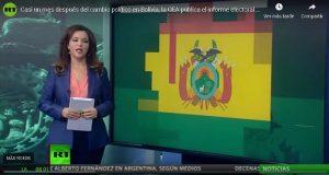 Casi un mes después del cambio político en Bolivia, la OEA publica el informe electoral final