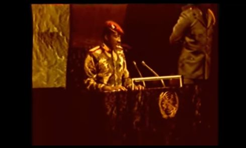 Thomas Sankara: ritrovato il video del suo straordinario discorso alle Nazioni Unite
