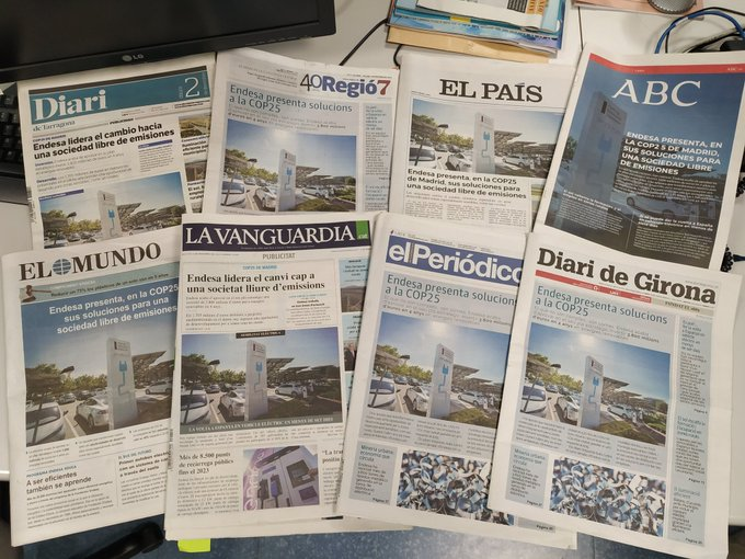 Endesa και ισπανικός τύπος: η εταιρική κοινωνική ευθύνη έχει τις λύσεις