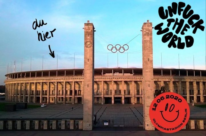 Unfuck the World – Demokratiefestival im Olympiastadium Berlin
