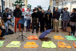 [Réforme des retraites] Dimanche 26 janvier, à Bordeaux, « L'art soutient la grève »