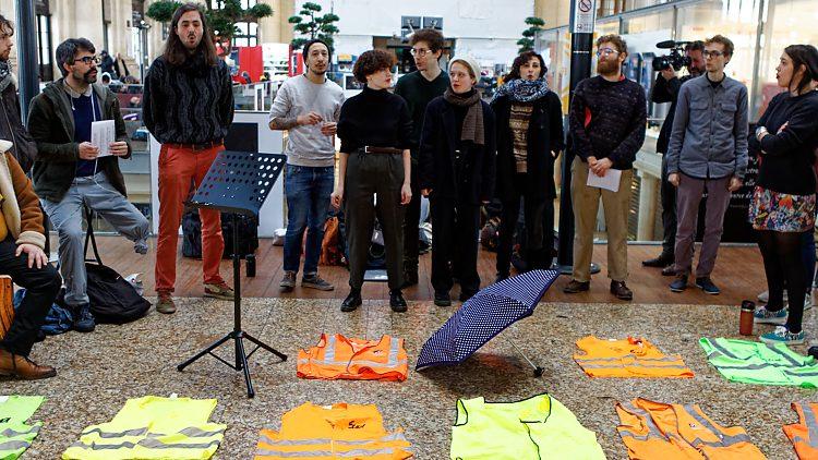 Dimanche 26 janvier, à Bordeaux, « L'art soutient la grève »