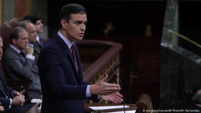 Sánchez se elege premiê da Espanha
