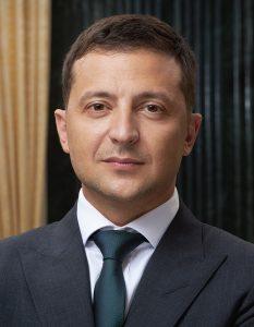 Volodymir Zelensky, Président d'Ukraine