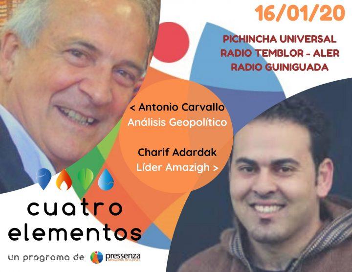 Cuatro Elementos del 16-01-2020 [Radio]