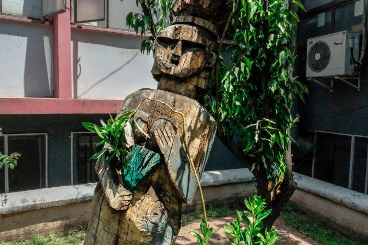 Un Centro Ceremonial Mapuche olvidado por la comunidad