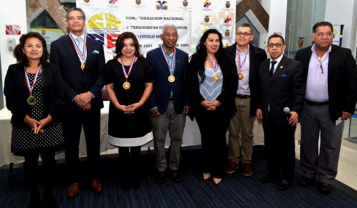 Homenaje Al Periodismo Ecuatoriano En New York